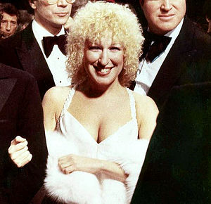 actress/singer Bette Midler at the premiere of...