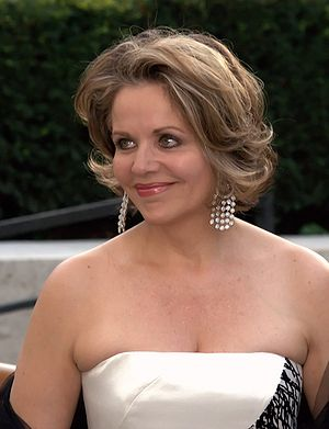 Renée Fleming at the 2009 premiere of the Metr...
