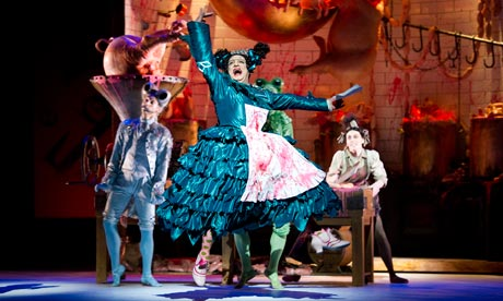 First reviews are out of Wheeldon's Alice at the Royal Ballet