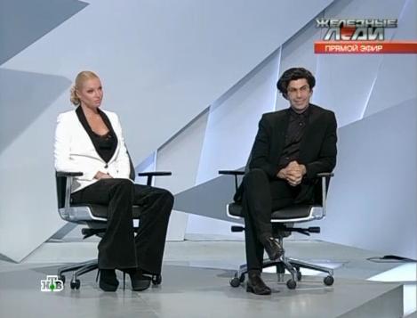 Volochkova and Tsiskaridze on Russian TV