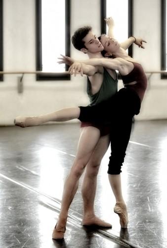 Natalia Osipova & Claudio Coviello rehearse Swan Lake
