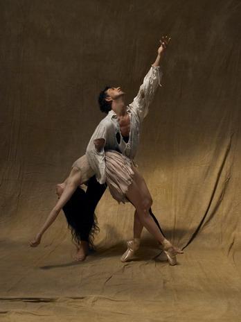 Julio Bocca and Alessandra Ferri in Manon - photo by Fabrizio Ferri