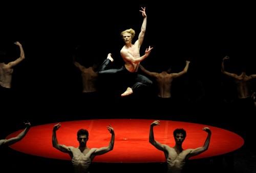 Marijn Rademaker in Bolero -  © Stuttgart Ballet