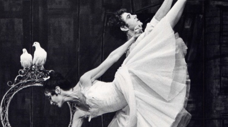 Margaret Barbieri and Carl Meyers in Frederick Ashton's The Two Pigeons - photo courtesy of Iain Webb