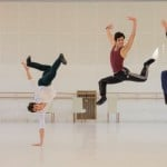 Alex Kaden, Francesco Costa, Cristiano Zaccaria and Alessio Di Stefano during rehearsals - photo by Mirko Di Stefano