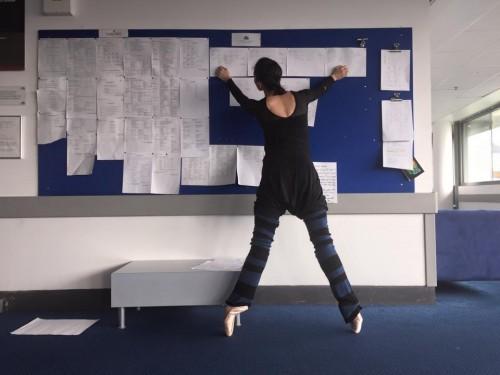 Mara Galeazzi - checking the schedule