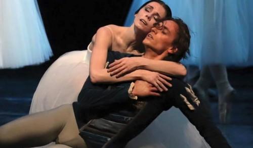 Sergei Polunin and Natalia Osipova in Giselle at La Scala - Photo by Brescia & Amisano