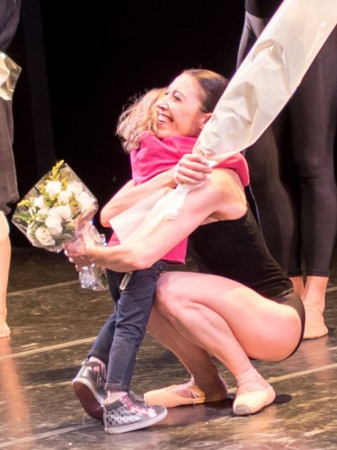 Mara Galeazzi with daughter Maia