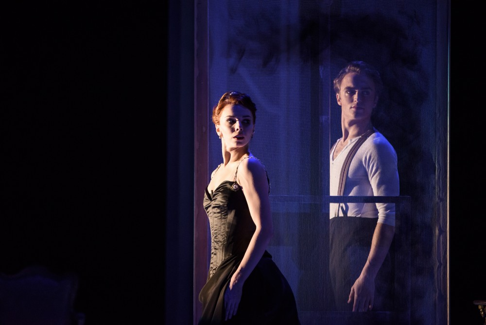 Strapless with Natalia Osipova as Amélie Gautreau and Matthew Ball as Albert de Belleroche - photo ©ROH, 2015, by Bill Cooper