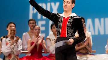 18-year-old Vincenzo di Primo on winning at Lausanne and studying at the Vienna Ballet Academy