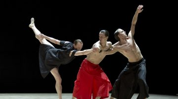 Wayne McGregor's new ballet Obsidian Tear – first images!