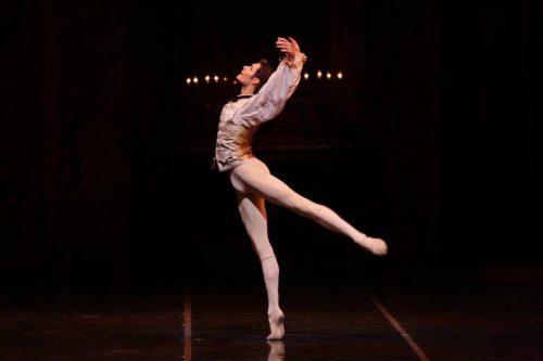 Jacopo Tissi as Des Grieux - photo by Brescia e Amisano, Teatro alla Scala
