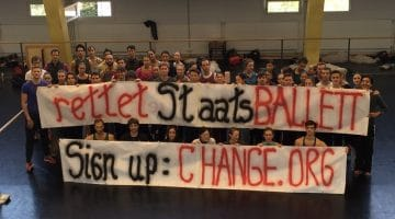Berlin dancers say 'Save Staatsballett Berlin!' with a Change.org petition
