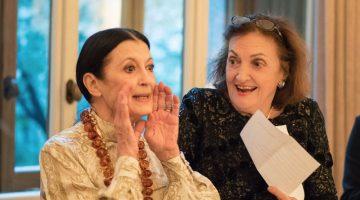 Amici della Scala celebrates Carla Fracci's 80th birthday and Anna Crespi's latest book