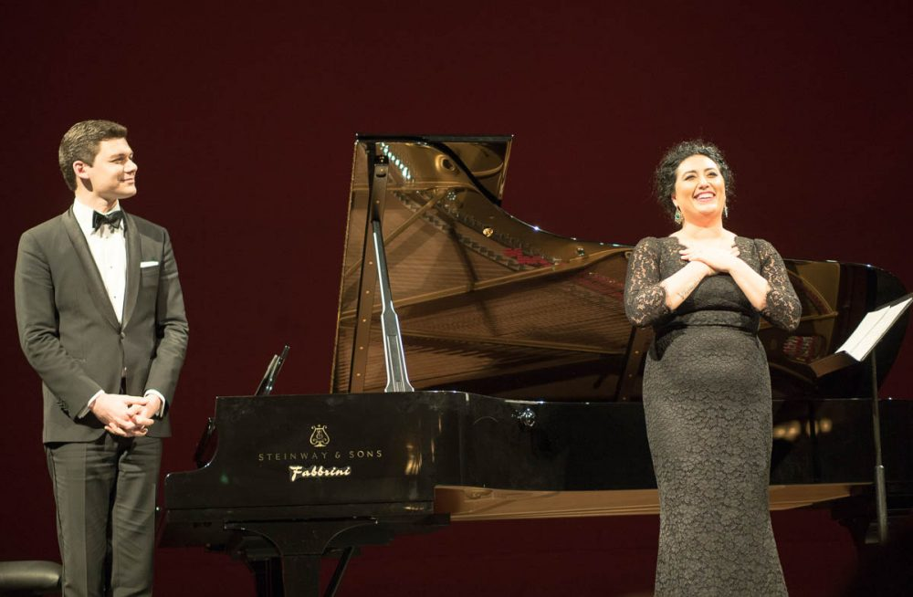 Anita Rachvelishvili and David Aladashvili at La Scala, 2016