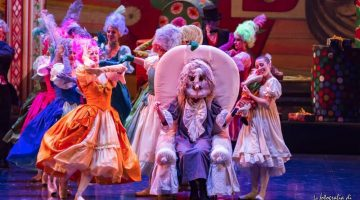 Amodio and Luzzati's worthy Nutcracker on tour in Italy