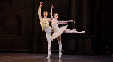 Photos of the first night cast of The Royal Ballet's The Sleeping Beauty with Sarah Lamb and Vadim Muntagirov