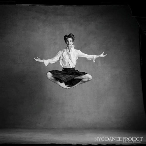 Julian MacKay as photographed by NYC Dance Project