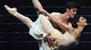 Martina Arduino and Claudio Coviello as the star-crossed lovers at La Scala