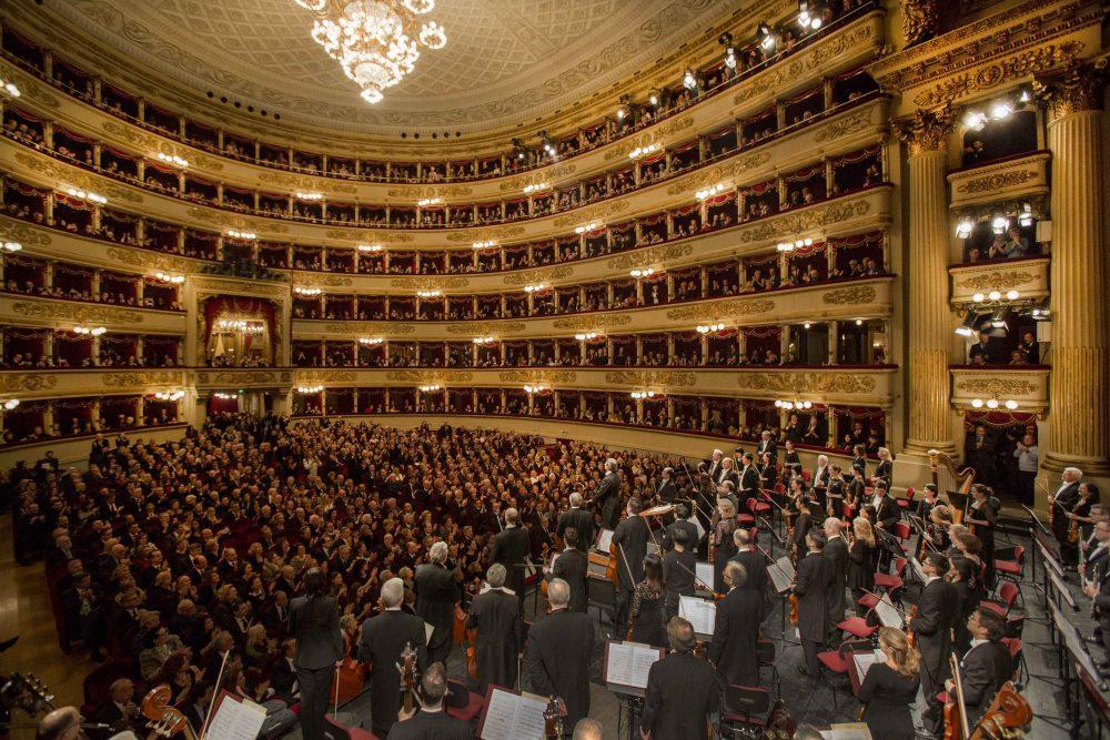 Riccardo Muti e Chicago Symphony Orchestra alla Scala 20.1.17 © Silvia Lelli