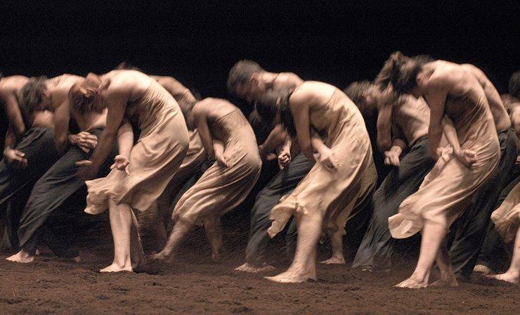 Tanztheater Wuppertal Pina Bausch performing Le Sacre du Printemps   photo by Ulli Weiss © Pina Bausch Foundation