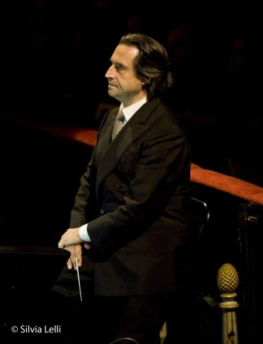 Riccardo Muti, photo by Silvia Lelli