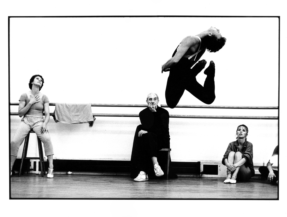 Exclusive photo from Royal Opera House archives to remember Kenneth MacMillan